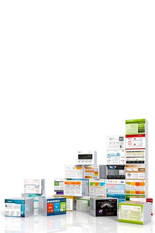 Webseiten Bausteine