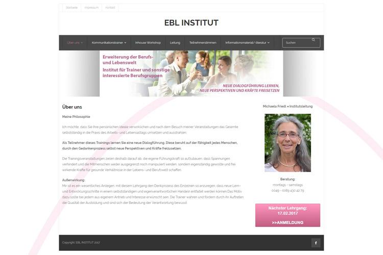 Webseite: www.ebl-institut.de