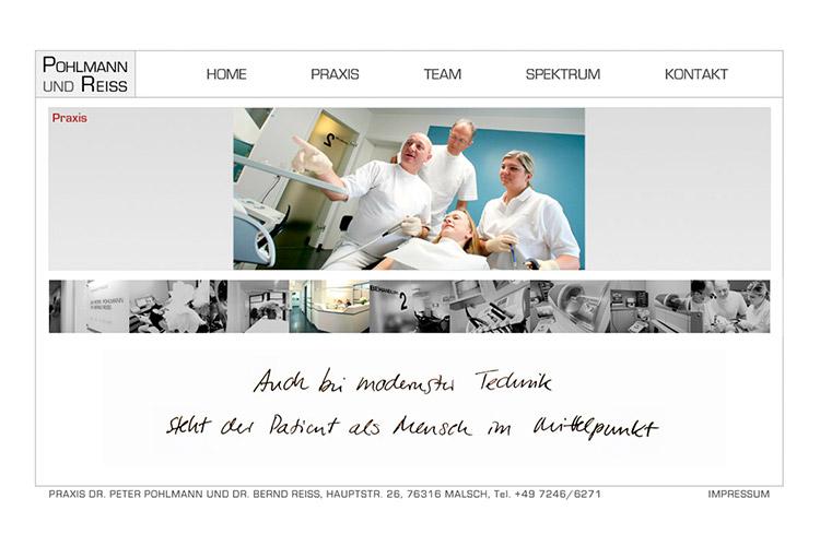 Webseite: www.pohlmann-reiss.de