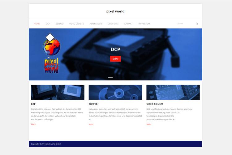 Webseite: www.pixelworld.de